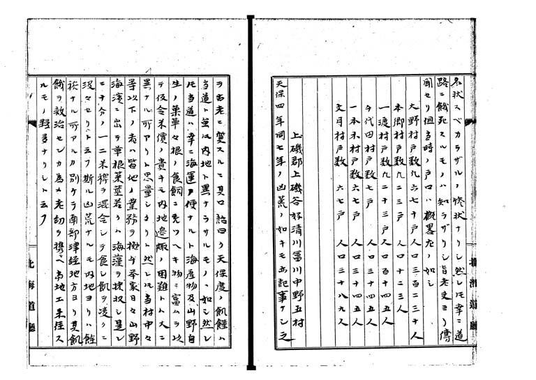 松前天保凶荒録p.15/49
